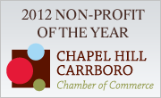 2012 Non-Profit of the Year - Chapel Hill Carrboro Chamber of Commerce