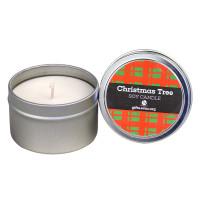 Christmas Tree Candle Tin
