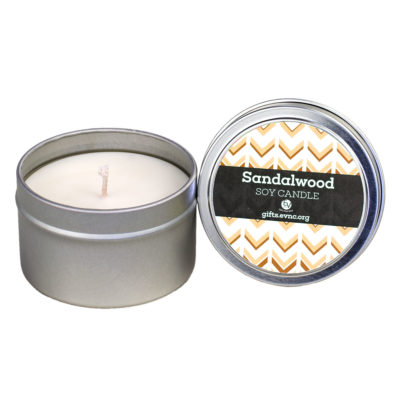 Sandalwood Candle Tin