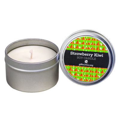 Strawberry Kiwi Candle Tin