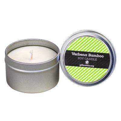 Verbena Bamboo Candle Tin