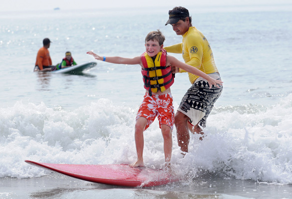 Surfer's Healing Provides a Watery Respite for Children on the Spectrum