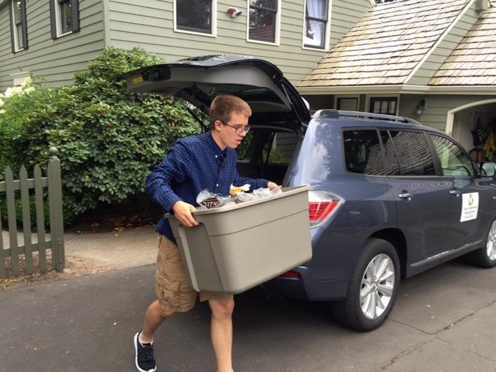 Autistic Teen Starts Recycling Business